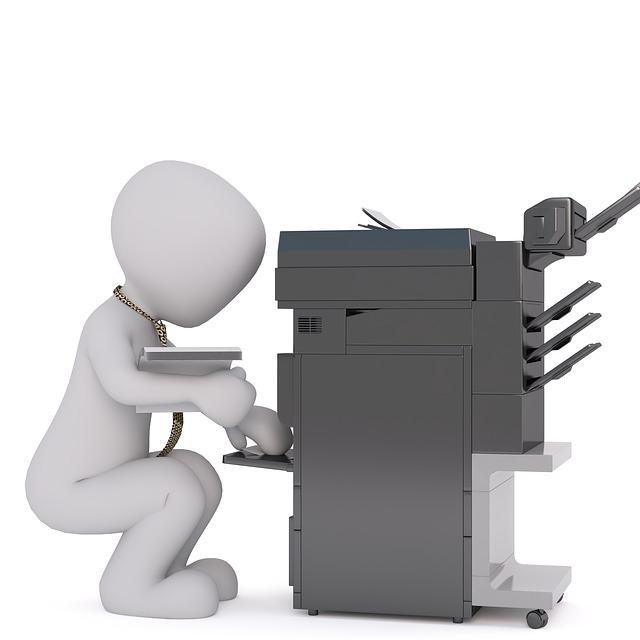 Panáček s tiskárnou