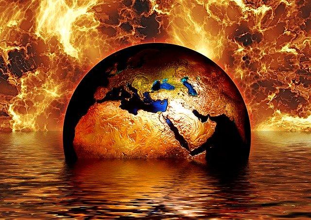 Planeta v plamenech